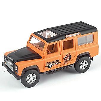 1/32 Defender Diecast Iny Car Models (Arancione)