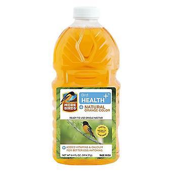 More Birds Health Plus Ready To Use Oriole Nectar Natural Orange - 64 oz