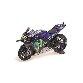 Minichamps 182163246 Yamaha YZR-M1 M-stjerne V Rossi Winner Catalunya MotoGP 2016