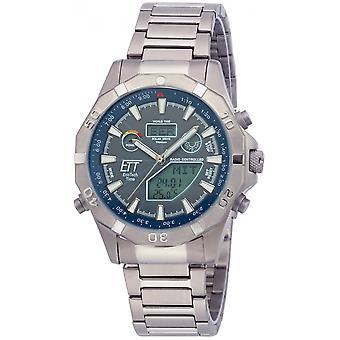 ONE (Eco Tech Time) Grey Titanium OJ-11355-50M Men's Watch