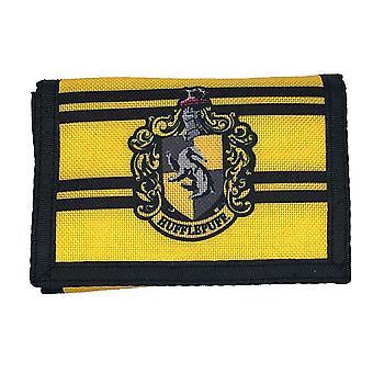 Harry Potter Hufflepuff Nailon TriFold lompakko