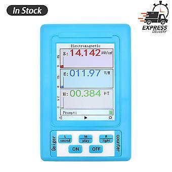 Br-9a Handheld Digital Tester Elektromagnetische Strahlung Detektor Hohe Genauigkeit Professionelle Semi-funktionale Typ Emf Meter