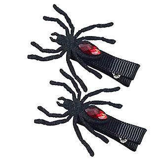 Yesfit Halloween Funny Little Devil Headband Wings Headdress Dark Spider Hairpin