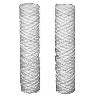 2 x sédiments de 5 microns Cartouches pour filtres à eau fits all 10