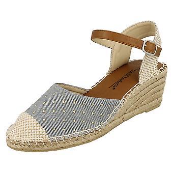 Ladies Anne Michelle Open Back Wedge Sandal F2254