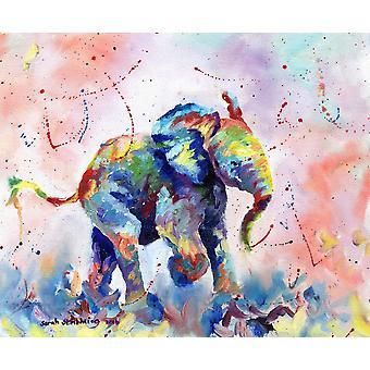 Stampa di Poster di Babyelephant di Sarah Stribbling