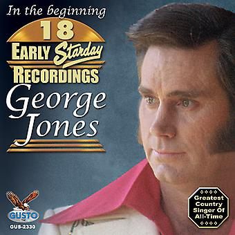 George Jones - 18 Early Starday Recordings [CD] USA import