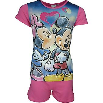 Disney Minnie Maus Mädchen | Shortie Pyjama-Set
