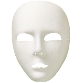 Viso - full ansiktsmaske hvit