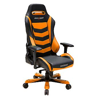 DX Racer DXRacer Iron Series OH/IS166/NO High-Back Boss Executive Chair PU Office Gaming Chair(Black/Orange)
