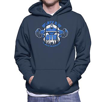 Mighty Blue Gym The Tick Men's Hooded Sweatshirt