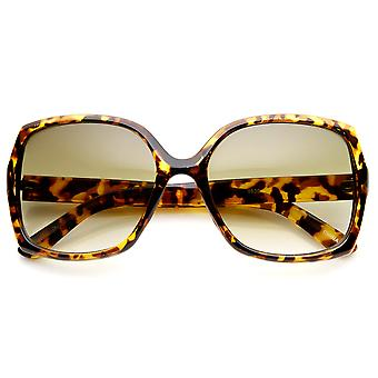 High Fashion Mid Size Square Frame Womens Sunglasses