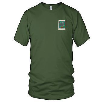ARVN 8 fuzileiros O Bien - insígnia militar unidade Patch Bordado seda guerra do Vietnã - Mens T-Shirt