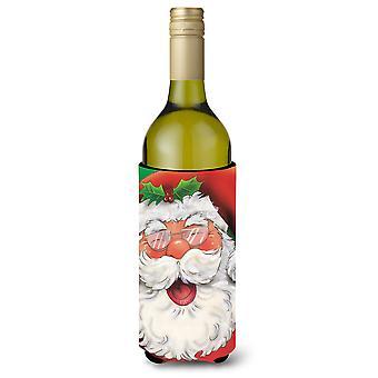 Jolly julenissen vinflaske drikke isolator Hugger