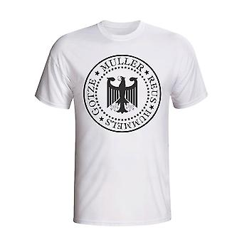 Deutschland Präsidenten T-Shirt (weiß)