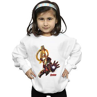 Marvel meisjes Iron Man Pose Sweatshirt