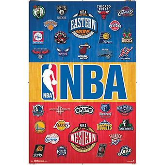 NBA - Logos 14 Poster Print