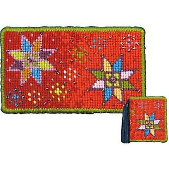 Stars Needlepoint Kit