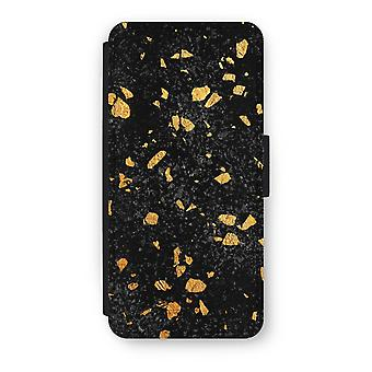 iPhone 5/5 s/SE Flip Case - Terrazzo N ° 7
