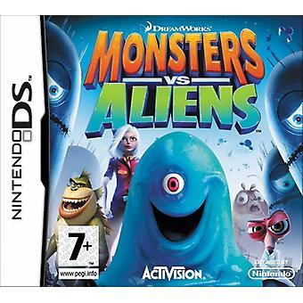Monsters vs udlændinge (Nintendo DS)-ny