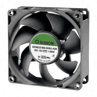 SUNON EE80251BX-000U-A99 axiálny ventilátor 12 V DC 76,45 m ³/h (L x š x H) 80 x 80 x 25 mm