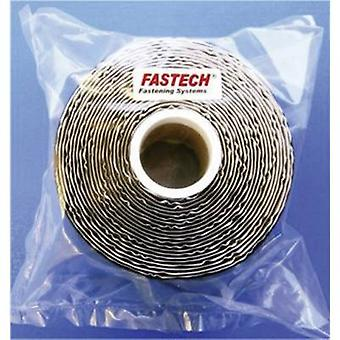 Fastech 730-330-5-taske hook-and-loop tape stick-on loop pad (L x W) 5000 mm x 50 mm sort 1 ruller