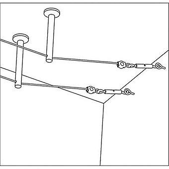 Paulmann 17824 Low voltage cable kit Deflector 2-piece set Chrome