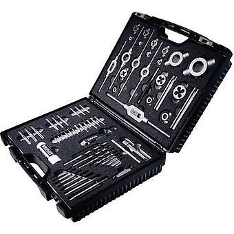 Exact 70511 Tap tool kit 61-piece HSS metric M3, M4, M5, M6, M8, M10, M12