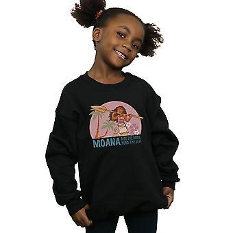 Disney flickor Moana Läs den Sea-tröjan