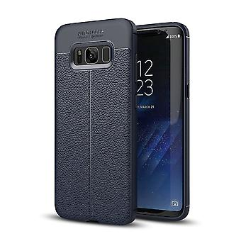 Cell phone cover case for Samsung Galaxy S8 cover frame case Blue