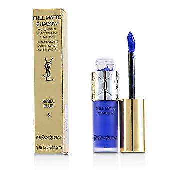 Yves Saint Laurent volle Matte Schatten - # 6 Rebel Blue - 4.5ml/0.15oz