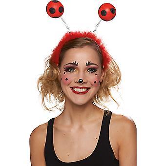 Lieveheersbeestje hoofdband accessoires Halloween carnaval