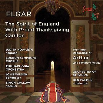 Elgar / Howarth / Callow / Wilson - Spirit of England / Binyon Settings [CD] USA import