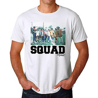 The Sandlot Squad Cast Graphic Men's White T-shirt