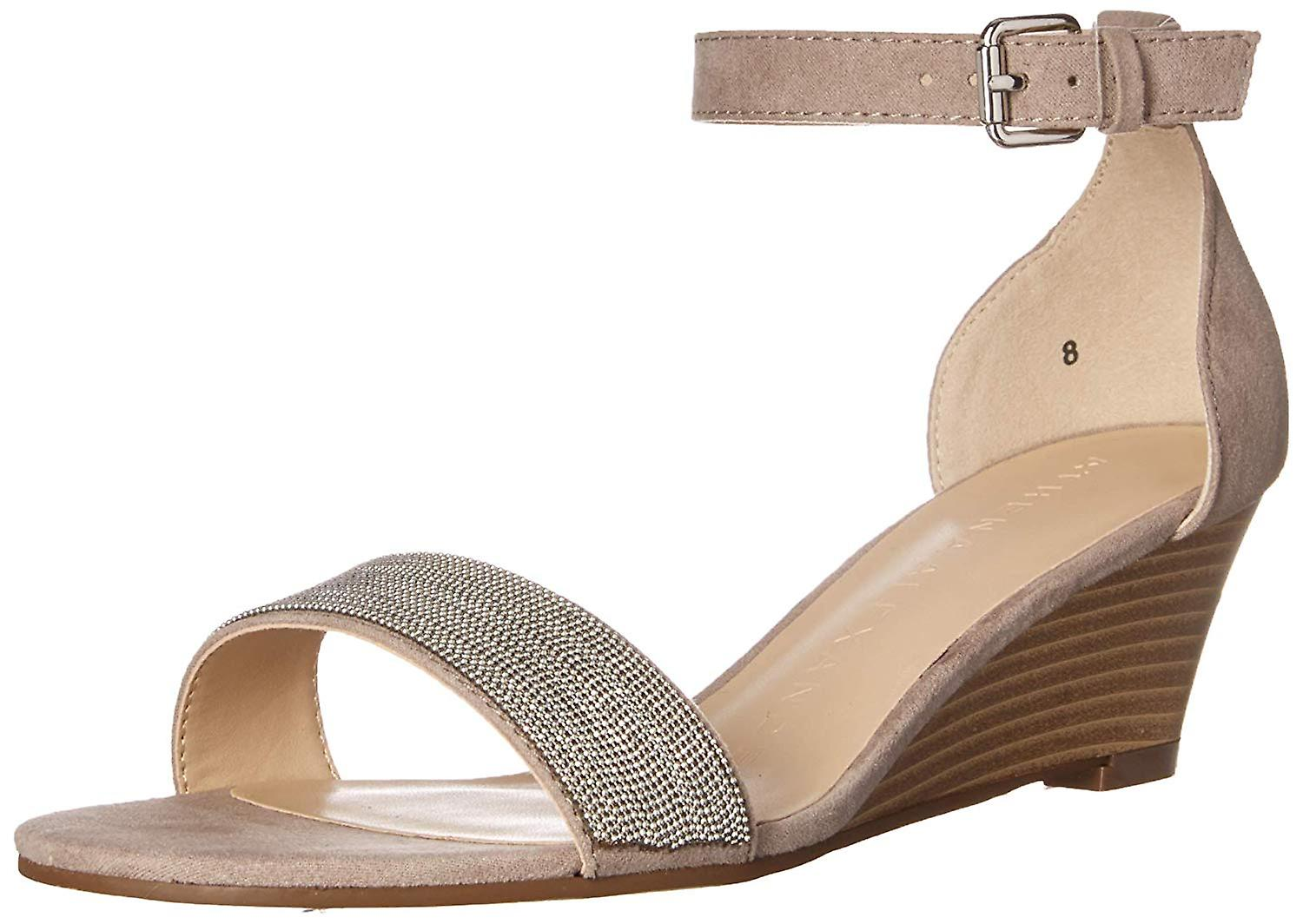 Athena Alexander Womens Enfield Open Toe Casual Ankle Strap Sandals