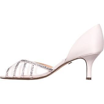 Nina naisten Corita nahka avoin kärki rento Espadrille sandaalit