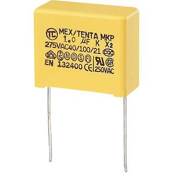 COMPONENTES TRU MKP-X2 1 pc(s) MKP-X2 capacitor Radial chumbo 1 μF 275 V AC 10 % 22,5 mm (L x W x H) 26,5 x 12,5 x 21,5 mm