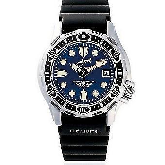 CHRIS BENZ - Diver Watch - DEEP 500M AUTOMATIC - CB-500A-B-KBS