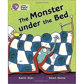 Collins Big Cat - le monstre sous le lit: bande 11/Lime