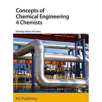 Concepten van chemische ingenieurstechnieken 4 chemici ('4' chemici)
