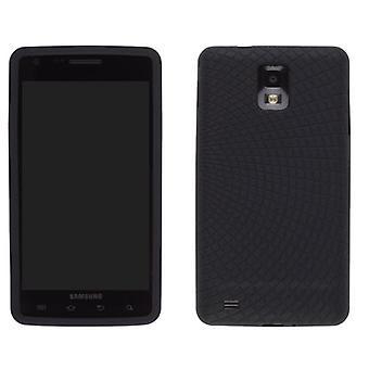 Trådlösa lösningar Radiant silikon Gel Case för Samsung ingjuta 4G SGH-I997 (svart)