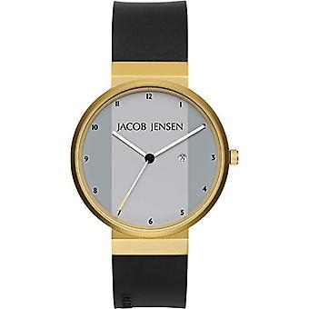 Pulsera cuarzo analógico Jacob Jensen relojes nueva serie 736