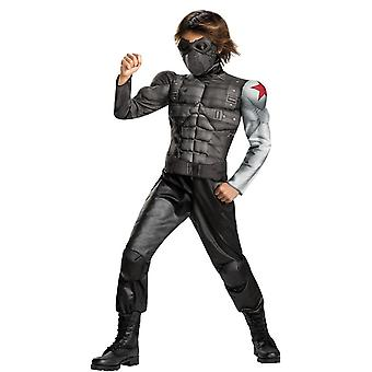 Winter Sildier Muscle Child Costume