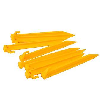 Gelert Unisex Plastic Pegs