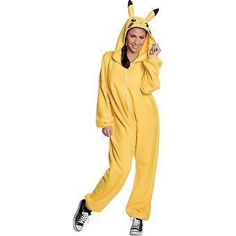 Pikachu volwassen kostuum
