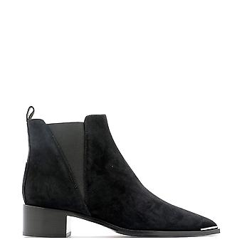 Acne Studios 1eic46900 Women's Black Suede Ankle Boots