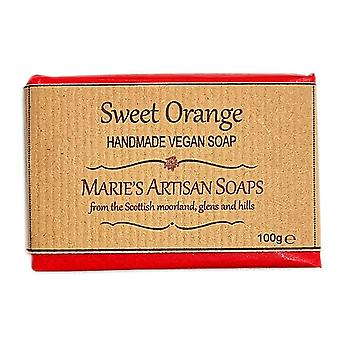 Handmade Vegan Soap 100g - Sweet Orange by Marie's Artisan Soaps