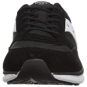 Dzieci Saucony dziewczyny Jazz Lite skórzane niskie góry koronki do uruchomiona Sneaker