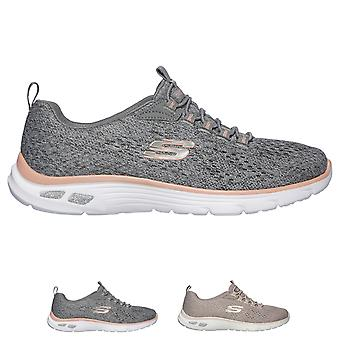 Womens Skechers Empire D�Lux Lightweight Sports Running Walking Trainers