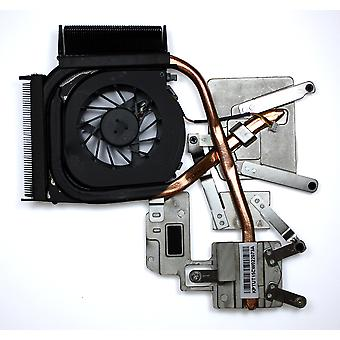 HP Pavilion DV6-1010EA Discrete Graphics Version Replacement Laptop Fan With Heatsink For AMD Processors